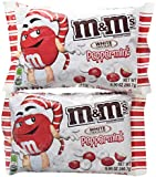 White Chocolate Peppermint M&M Candies - 2 pk