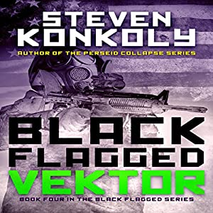 black flagged vektor audiobook steven konkoly audiblecom