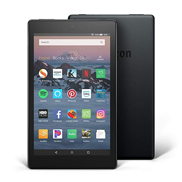 Fire HD 8 Tablet (8 HD Display, 32 GB, without Special Offers) - Black (Color: Black)