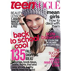 3 Year Teen Vogue Subscription