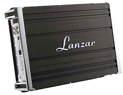 Lanzar MAXP2051D Amplificateur monobloc Classe D 4000 W Noir