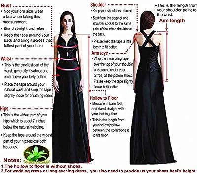 LOVEBEAUTY® Women's Chiffon Short Wedding Dress Cocktail Party Dresses