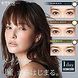 アンヴィ ワンデー 1箱10枚入 度あり 【カラー】プラム ブラック 【PWR】-2.00