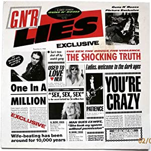 G N' R Lies [Vinyl]