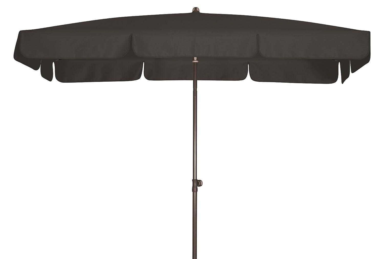 Absolut wasserdichter Gartenschirm Waterproof 185×120 von Doppler mit UV-Schutz 80, Farbe anthrazit günstig bestellen