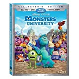 Monsters University – Exclusive 4-Disc Limited Collector's Edition with Bonus DVD (Blu-ray + DVD + Digital Copy Combo Pack)