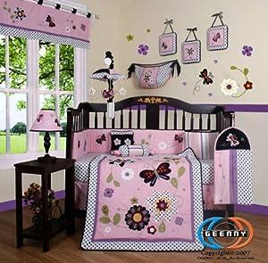 Geenny Boutique Floral Dream Crib Bedding Baby Bedding