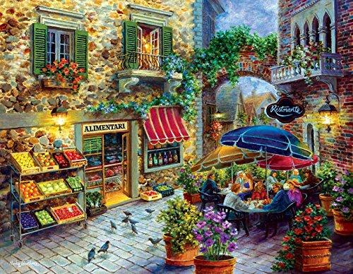 Market Square a 300-Piece Jigsaw Puzzle by Sunsout Inc.