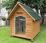 XL Sussex Hundehütte Aus Holz Mit Entfernbarem Boden Zur Einfachen Reinigung A - 2