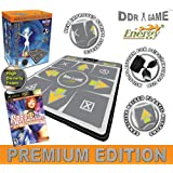 DDR Multi-Platform Super Sensors Energy Non-slip Dance Pad (PS, PS2, XBox, PC, Mac) with DDR Game Ultramix 2 (XBOX)