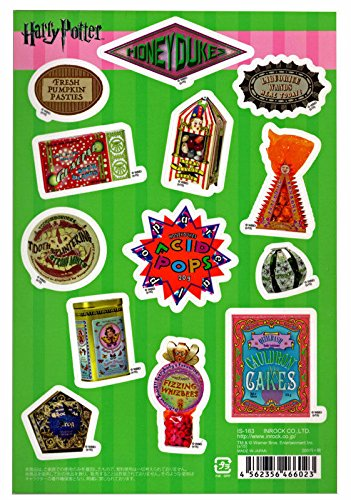 Harry Potter Honeydukes Wizard Sweets Labels Sticker Sheet