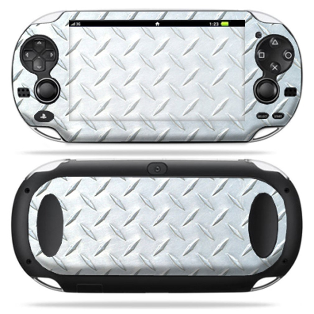 Protective Vinyl Skin Decal Cover for PS Vita PSVITA Playstation Vita Portable Sticker Skins Diamond Plate