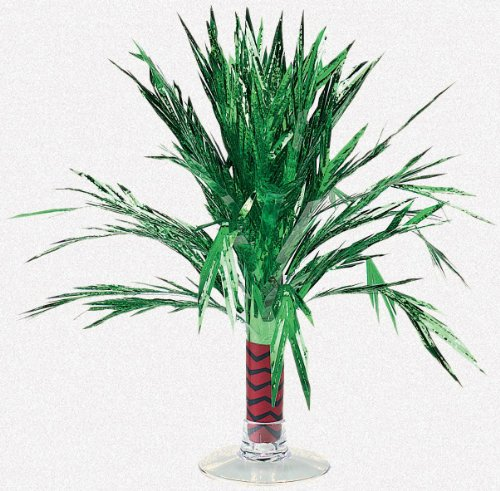 Amscan - Mini Foil Palm Tree Centerpiece