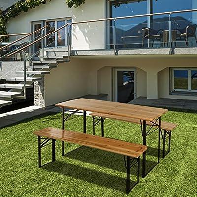 Homelux Bierzeltgarnitur Festzeltgarnitur 176 cm von PRIMOPET auf Gartenmöbel von Du und Dein Garten