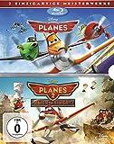 DVD & Blu-ray - Planes + Planes 2 Doppelpack [Blu-ray]