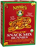 Annie's Homegrown Organic Snack Mix, Bunnies, 9-Ounce Boxes (Pack of 4)