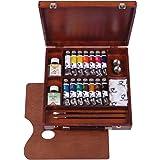 Royal Talens Van Gogh Artists' Oil Colors, Inspiration Wooden Box Set (02840100) (Color: Multicolored)