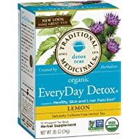 EveryDay Detox® Lemon, Traditional Medicinals, 16-Count Box