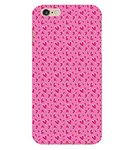 EPICCASE pinky little hearts Back Case Cover For Apple iPhone 6/6s (Designer Case)