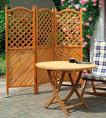 sichtschutzzaun holz impr gniert. Black Bedroom Furniture Sets. Home Design Ideas