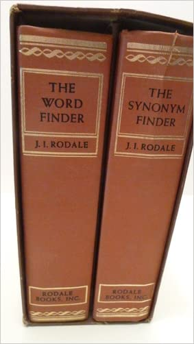 The Synonym Finder & The Word Finder (2 Volume Set)