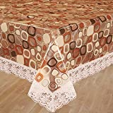 Bianca Velvet PVC 4 Seater Table Cloth - Multicolour