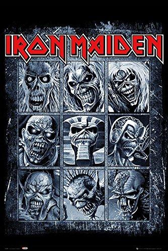 GB Eye, Iron Maiden, Eddies, Maxi Poster, 61 x 91,5 cm