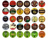 Bold Coffee Variety Sampler Pack for Keurig K-Cup Brewers, 30 Count