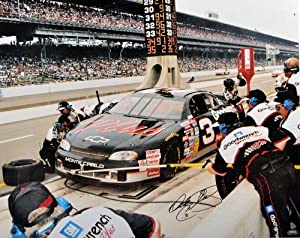 Dale Earnhardt Signed Photo - Dale Earnhardt Sr. 16x20 - SM Holo