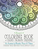 img - for Maggie's Coloring Book of Hand Drawn Designs: An assortment of Mandalas, Flowers & Patterns book / textbook / text book