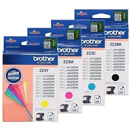 4 YouPrint Druckerpatronen ersetzen Brother LC223