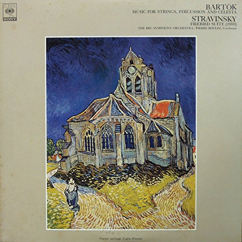 STRAVINSKY ストラヴィンスキー バレエ組曲『火の鳥』1910年版 / BARTOK バルトーク 弦楽器、打楽器とチェレスタのための音楽 [12