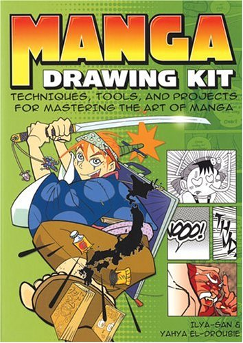 Manga Drawing Kit: Techniques, Tools, and Projects for Mastering the Art of Manga with Book(s) and Other