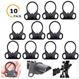 Ar15 End Plate,Ar15 Slinggs Adapter Mount,Ar15 Accessories Hand Mount Tools (10 Pack) (Color: 10 PACK)