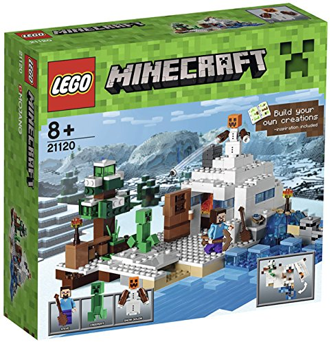 Lego-Minecraft-The-Snow-Hideout