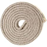 """SoftTouch Self-Stick Heavy Duty Felt Strip Roll for Hard Surfaces (1/2"""" x 60""""), Oatmeal"""