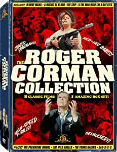 Roger Corman Collection - (Bloody Mama / A Bucket of Blood / The Trip / Premature Burial / The Young Racers / Gas-s-s / The Wild Angels / X: The Man With X-Ray Eyes) (4DVD) [Import]