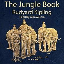 The Jungle Book Audiobook by Rudyard Kipling Narrated by Alan Munro