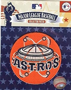 2 Patch Pack - 2010 Houston Astros 1965-74 Astrodome Retro MLB Baseball Jersey Sleeve... by Hall of Fame Memorabilia