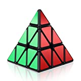 Pyramid Cube, Roxenda 3x3x3 Pyramid Speed Cube Triangle Magic Cube Puzzle