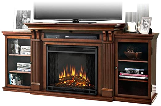 Real Flame Ashley Entertainment Center Electric Fireplace - Dark Espresso