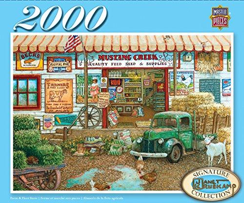 master-pieces-71664-dowdle-farm-fleet-store-puzzle-2000-piezas