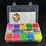 Ateamart Loom Bandz Kit & Clips Colle...
