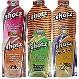 shotz ショッツ エナジージェル (カーボショッツ) おためし6味 45g×6個 ランキングお取り寄せ