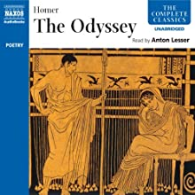 The Odyssey Audiobook by  Homer, Ian Johnston - translator Narrated by Anton Lesser