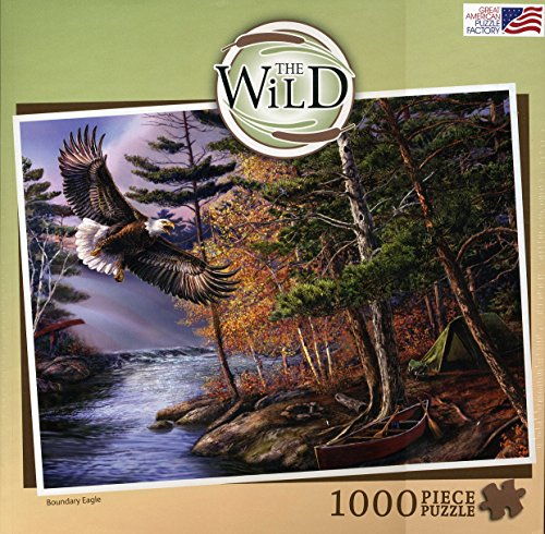 Great American Puzzle Factory - Boundary Eagle - Jigsaw Puzzle - 1000 Pc