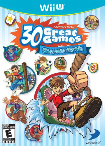 Family Party 30 Great Games: Obstacle Arcade - Nintendo Wii U - 1