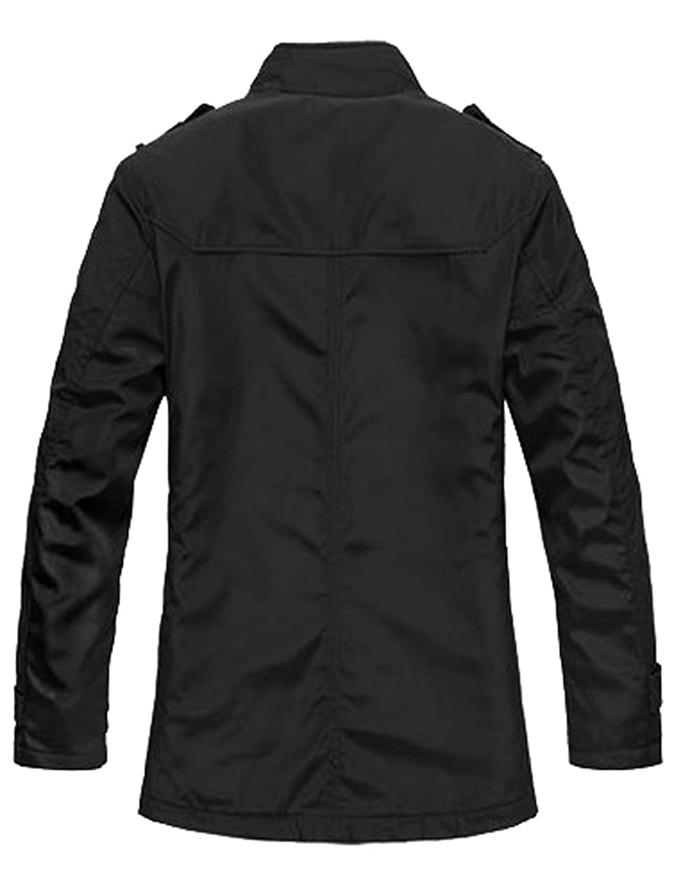 WantDo Men's Fashion Cotton Jacket Waterproof Coat for Slim Person at Amazon Men�s Clothing store