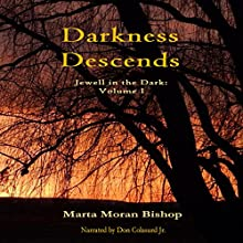 Darkness Descends: Jewell in the Dark, Book 1 Audiobook by Marta Moran Bishop Narrated by Don Colasurd Jr.