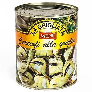 Artichoke Halves by Menu (1.76 pound) : Canned And Jarred Artichoke ...